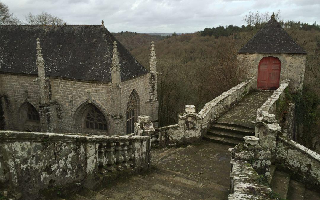 Le Faouët : Sainte-Barbe, site de légende